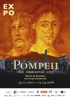 'Pompeii, the immortal city' at the Bourse de Bruxelles Archaeology News, The Visitors, Fresco, Memories, City, Movie Posters, Galerie Photo, Brussels, Photo Galleries
