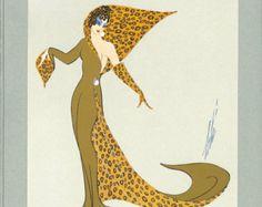 art deco fashion drawings - Google Search