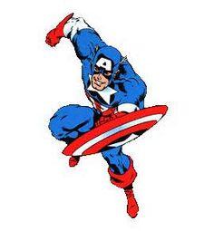how to draw captain america cartoon