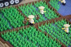 Vietnam MOC - Rice Fields #LEGO #Brickvention #Melbourne