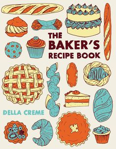 Recipe Books - Christina Hart Illustration