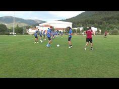 Pre season trainings...technical warm up...21 - YouTube