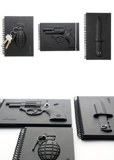 Armed Notebooks - for world domination note taking
