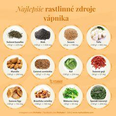 zdroje vápnika Cantaloupe, Healthy Lifestyle, Fruit, Food, Essen, Healthy Living, Yemek, Healthy Life, Meals