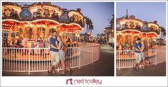 Belmont Park engagement photography by Red Trolley Studio, Engagement photo session ideas, San Diego romantic portrait photographer