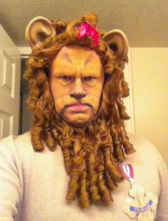 Another Lion  sc 1 st  Pinterest & Amazing Cowardly Lion Makeup | Halloween 2014 | Pinterest | Lion ...