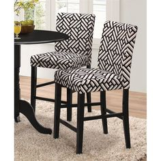 Lowest price online on all Coaster Counter Stool in Black - 106769