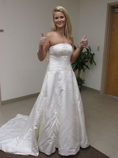 DIY Giselle from enchanted costume Old wedding dress from goodwill ...