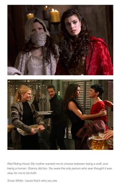 Red/Ruby and Snow/Mary Margaret