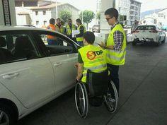 Campaña a favor da seguridade vial orgaizada por Stop Accidentes e na que colaboramos xunto con vítimas, sanitarios, axentes de tráfico e voluntarios. Xullo 2015 (3)