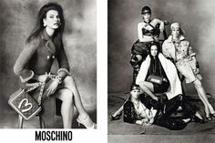Modeconnect.com - Moschino campaign shot by Steven Meisel