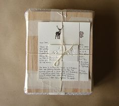 Scrap packaging by Naomi (scraps never had it so good)