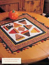 Candy Corn Digital Quilt Pattern