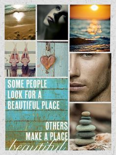 Beautiful people collage
