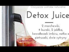 Detox juice czyli oczyszczający sok z buraków. Healthy Juice Drinks, Healthy Juice Recipes, Healthy Juices, Detox Drinks, Detox Your Body, Fun Workouts, Wordpress, Youtube, Diet