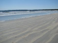 Summerville Beach, Queens County, Nova Scotia.  Beautiful white sand perfect for long walks!