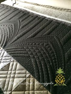 Quilted Pineapple (Linda Hrcka) does fabulous quilting, especially with her own line of rulers!