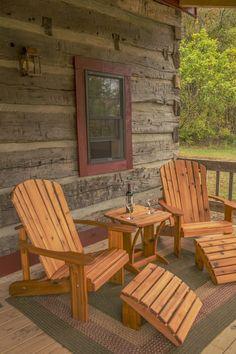 Hewn Log Cabin in Storybook Setting - VRBO