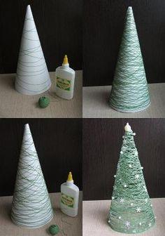 string christmas tree by elsie