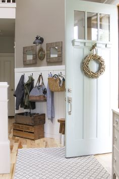 How to create a welcoming entryway - The Inspired Room