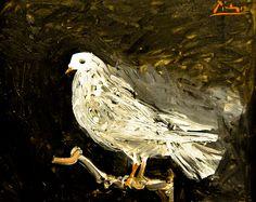 Pablo Picasso - Pigeon on a Perch, 1960 at the Virginia Museum of Fine Arts (VMFA) Richmond VA