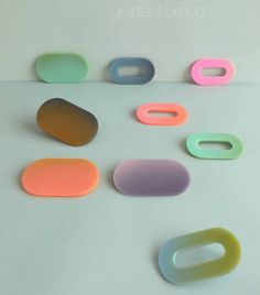 JANTJE FLEISCHHUT new brooches Surprising new brooches (2014) of Jantje…