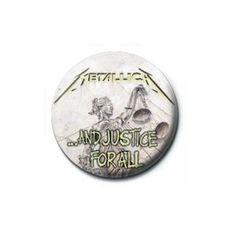 Pyramid International Rozet - Metallica (Justice For All) - 25 mm Rozet - BunlardanIstiyorum.com