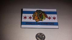 Hey, I found this really awesome Etsy listing at https://www.etsy.com/listing/242405848/city-of-chicago-blackhawks-lapel-pin