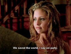 Buffy party