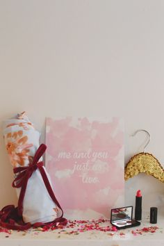 DIY: Valentine Stocking   theglitterguide.com