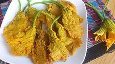 pumpkin flower fry,
