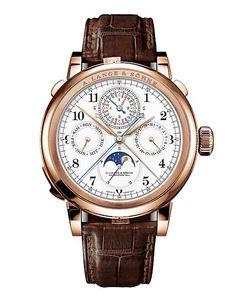 A. Lange & Sohne chronograph, perpetual calendar & minute repeater 2014