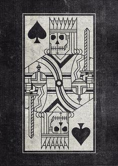 Skull King Card
