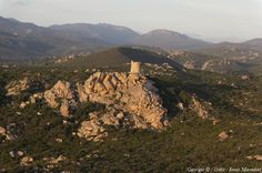 Photo aérienne de Sartène - Corse-du-Sud (2A)