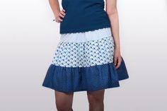 Tiered Skirt / Stufenrock Tutorial