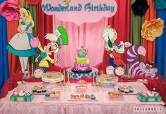 Alice in Wonderland Birthday Party Ideas | Photo 8 of 38