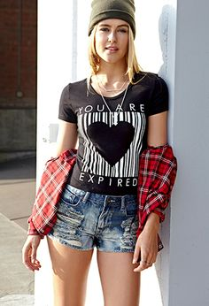 Expired Love Crop Top | FOREVER21 - 2000089490