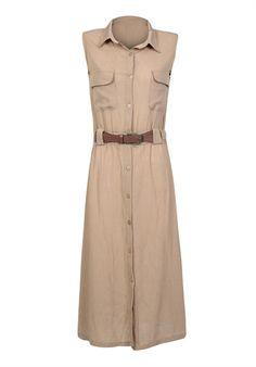 Şile Bezi Uzun Vizon Elbise 114-2198