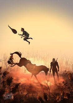Фотография The Witcher Book Series, The Witcher Books, The Witcher Geralt, Witcher Art, Witcher Wallpaper, Fan Art, Fantasy Art, Concept Art, Art Drawings