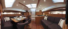 Jeanneau 57 Sailing the web yatch charter
