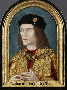 The earliest known portrait of Richard III, from a lost original.