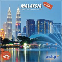 Best Offer on Malaysia Honeymoon Package @14,632/P