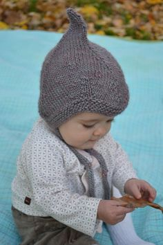 this is adorable. - alfafa by Kate Gagnon Osborn.  free pattern