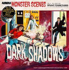 Dark Shadows Aurora models