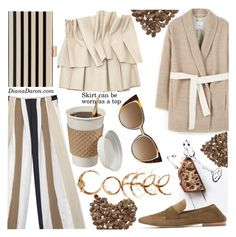 """Good morning! Coffee? Please!"" by dianadaron ❤ liked on Polyvore featuring ASOS and Fendi"