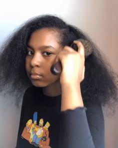Natural Hair Bun Styles, Natural Hair Braids, Natural Afro Hairstyles, Slick Hairstyles, Baddie Hairstyles, Braided Hairstyles, Curly Hair Styles, Curly Hair Model, Curly Hair Tips