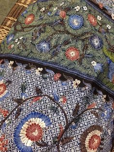 Batik gentongan from Madura. In order to get a rich color dye from natural elements such as leaves, flower or wood bark, they have to dip this cloth several weeks in a barrel or gentong in bahasa indonesia, hence the name batik gentongan. Private collection of Arief Laksono.