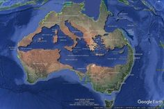 Map Info & Chart : The Mediterranean Sea perfectly fits inside Australia The Mediterranean Sea perfectly fits inside Australia By the_laughing_bugbear At Australia Funny, Australia Map, Queensland Australia, United Nations Peacekeeping, World Geography, Fantasy Map, Alternate History, Science, Mediterranean Sea