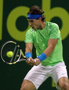 Yo conozco a Rafael Nadal. Rafael Nadal es muy atletico.