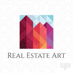 Exclusive Customizable Logo For Sale: Real Estate Art | StockLogos.com